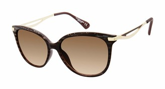 U.S. Polo Assn. U.S. Polo Association Women's PA5034 TSGT Non Polarized Round Sunglasses
