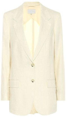 Arjã© The Rey linen-blend blazer