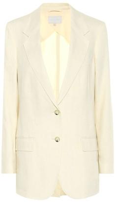 Arjé The Rey linen-blend blazer