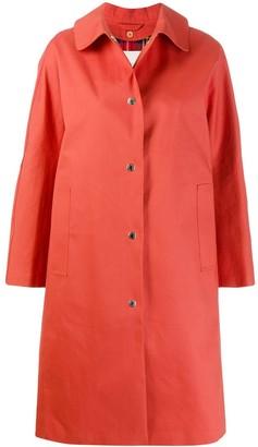 MACKINTOSH FAIRLIE Jaffa Bonded Cotton Coat | LR-079D