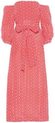 Lisa Marie Fernandez Rosie off-the-shoulder cotton dress