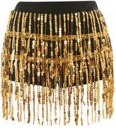 Jaded London **Gold Sequin Fringe Hot Pants