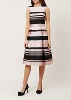 Hobbs Bridgette Stripe Dress
