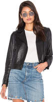 Rag & Bone Mercer Leather Jacket in Black. - size M (also in )