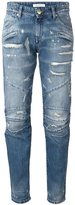 Pierre Balmain 'Moto' jeans - women - Cotton - 26