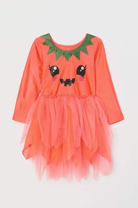 H&M Pumpkin Costume Dress
