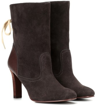 See By Chloã© Lara suede ankle boots