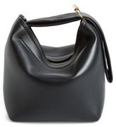 Victoria Beckham Tissue Pouch Leather Bag - Black