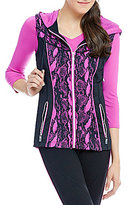 Nygard Collection Peter Nygard Performance Printed Vest