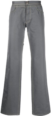 1990s Low Rise Straight-Fit Trousers