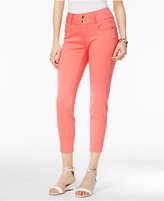 Thalia Sodi Double-Button Skinny Ankle Pants, Only at Macy's