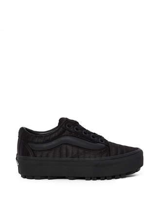 Vans OC Quilted Puffer Old Skool Lug Platform Sneaker