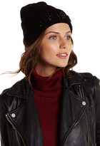 David & Young Embellished Solid Beanie