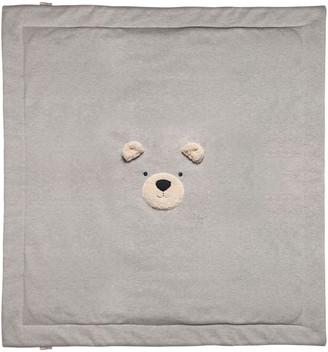 Il Gufo Bear Double Jersey Blanket