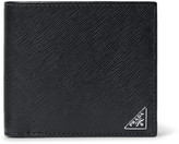 Prada Cross-Grain Leather Billfold Wallet