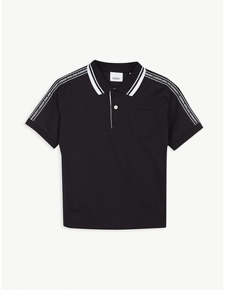 Burberry Alford striped cotton polo shirt 3-14 years