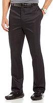 Daniel Cremieux Signature Classic-Fit Flat-Front Microfiber Pants