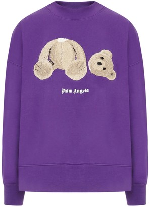 Palm Angels Sweatshirt Bear