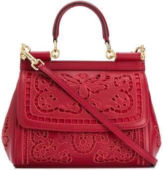Dolce & Gabbana floral lace shoulder bag