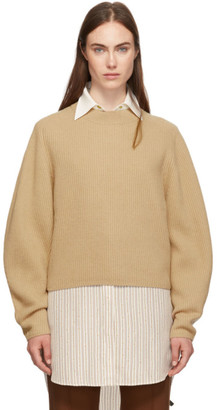 Chloé Brown Wool and Cashmere Sweater