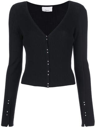 3.1 Phillip Lim Dome Buttons Cardigan