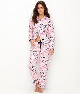 Kate Spade Novelty Flannel Pajama Set - Women's