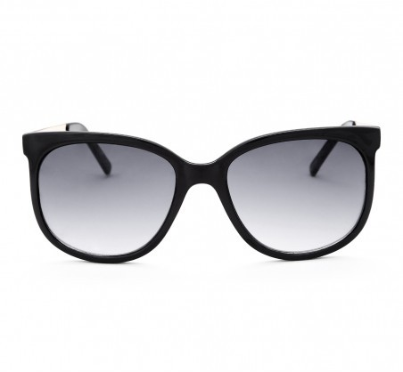 Sole Society Leena Oversized Sunglasses With Metal Details