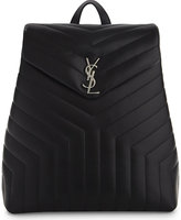 Saint Laurent Monogram quilted leather backpack