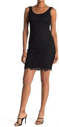 Bebe All-Over Lace Bodycon Dress