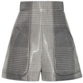 Alexander Wang High Waisted A-Line Short With Seamed In Pocket