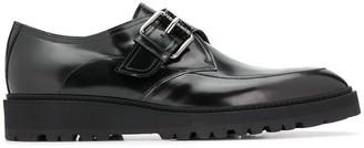 Moschino Monk Strap Calfskin Shoes