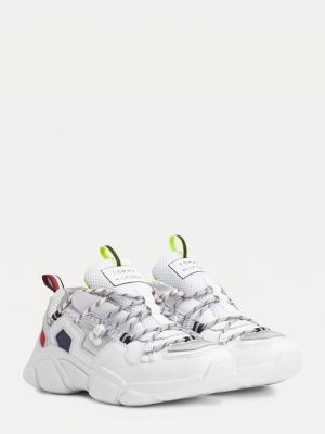 Tommy Hilfiger TH City Chunky Mixed Texture Trainers