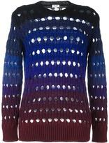 Kenzo laser cut jumper - women - Polyamide/Mohair/Wool - S