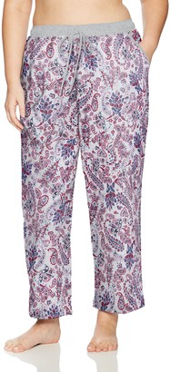 Karen Neuburger Plus Size Women's Lounge Pant Pajama Bottom Pj