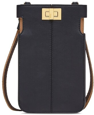 Fendi Peek-a-Phone on-strap purse