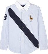 Ralph Lauren Novel Striped Cotton Shirt 6-14 Years