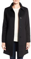 Fleurette Petite Women's Fit & Flare Wool Coat