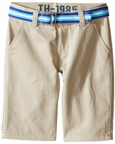 Tommy Hilfiger Chester Twill Shorts (Toddler/Little Kid)