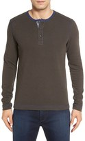 Nordstrom Washed Stripe Knit Long Sleeve Henley