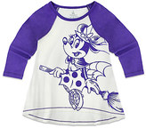 Disney Minnie Mouse Halloween Raglan Top for Kids - Walt World