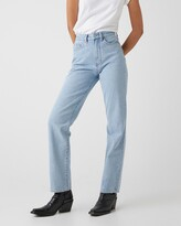 Thumbnail for your product : Neuw Women's Blue Straight - Nico Straight Jeans - Size 26 at The Iconic