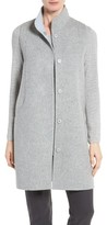 Eileen Fisher Women's Double Face Brushed Wool Long Vest