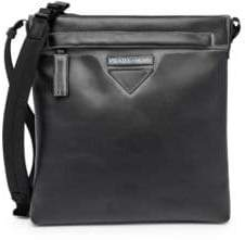 Prada Grace Lux Print Leather Messenger Bag