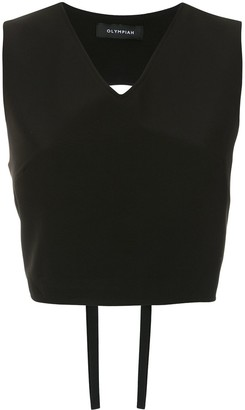 Olympiah Papa cropped top