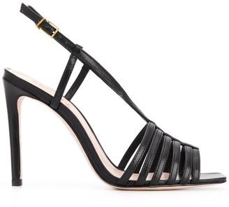 Schutz Strappy Slingback Sandals