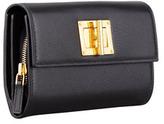 Tom Ford Natalia Continental Turn-Lock Wallet, Black