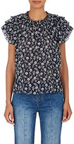 Ulla Johnson Women's Leoda Floral Cotton-Silk Top