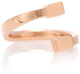 Repossi Serti Sur Vide 18kt rose gold ring