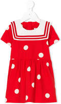 Mini Rodini polka dot sailor dress