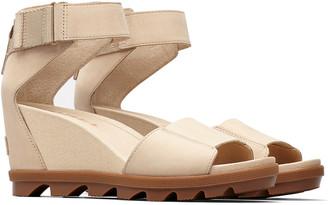 Sorel Joanie Ii Ankle Strap Nubuck Sandal